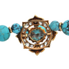 Antique Georgian 3.5CT Diamond and Turquoise Necklace C.1800 + Montreal Estate Jewelers