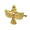 Solid 18K Yellow Gold 'Urart' Winged God + Montreal Estate Jewlers