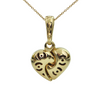 Chimento Two-Toned 18K Gold Heart Pendant + Montreal Estate Jewelry