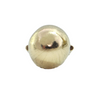 Retro High Domed 14K Yellow Gold Ring