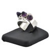 Vintage David Anderson Amethyst Sterling Silver Ring + Montreal Estate Jewelers