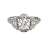 Diamond ring 'Edwardian Homage' by Daisy Exclusive