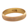 Vintage Egyptian 18K Yellow Gold Ring + Montreal Estate Jewlers