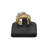Estate 'David Yurman' 18K  Gold Diamond Ring X collection + Montreal Estate Jewelers