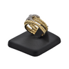 Estate 'David Yurman' 18K  Gold Diamond Ring X collection