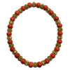 Vintage Mediterranean Coral Emerald and Diamond Necklace + Montreal Estate Jewelers