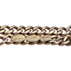 Antique 14K Yellow Gold Curb Link Watch Chain + Montreal Estate Jewelers