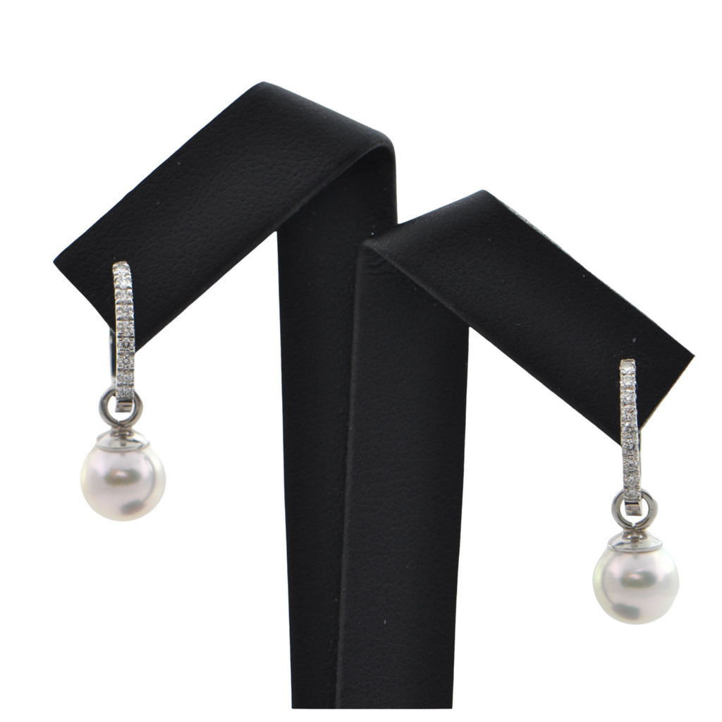 7.6mm Pearl Earring Enhancers + Montreal Estate Jewelers