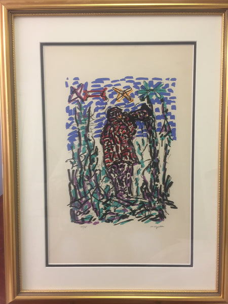 Jean-Paul Riopelle, Parler de Corde, 'Le Call' 1972 - Signed Lithograph - montreal estate jewellers