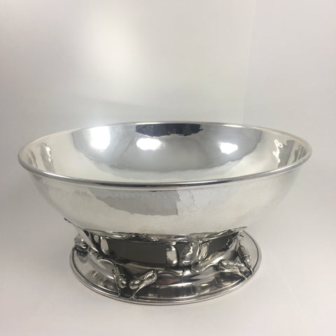 Poul Petersen Sterling footed bowl C. 1950, Montreal Estate Jewellers