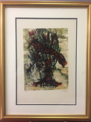 Jean-Paul Riopelle, Parler de Corde, ''Metamorphose'' 1972 - Signed Lithograph - montreal estate jewellers