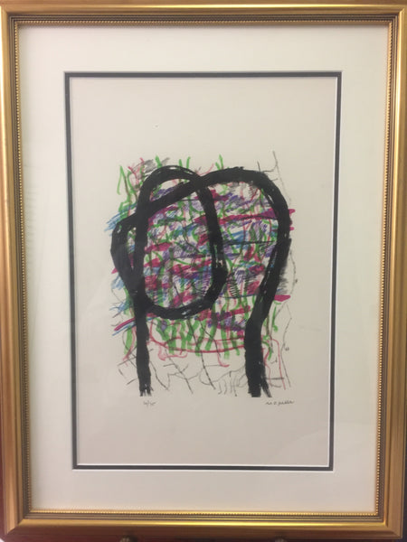 Jean-Paul Riopelle, Parler de Corde, ''L'Indien'' 1972 - Signed Lithograph - Montreal estate jewellers