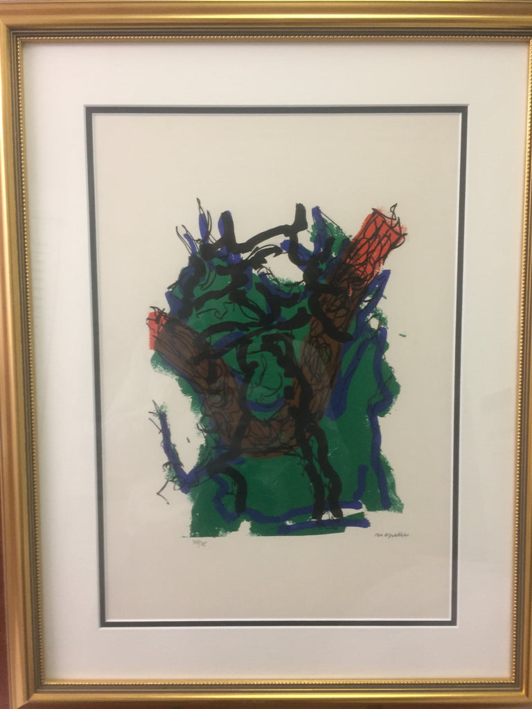 Jean-Paul Riopelle, Parler de Corde, ''Turnbull'' 1972 - Signed Lithograph - montreal estate jewellers