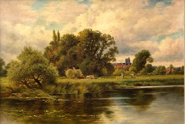 H. H. Parker - 'Bray on Thames' - Oil on Canvas (30