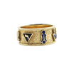 Vintage Masonic 14K Yellow Gold Ring + Montreal Estate Jewelers