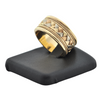 14K Tri-Colored Gold Ring