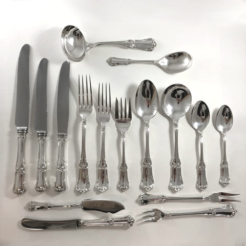 BIRKS FRANCIS I - Individual Place Setting and with Serving Pieces