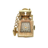 Vintage 14K Yellow Gold Lock and Key Watch Pendant + Montreal Estate Jewelers