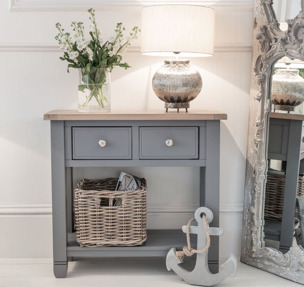 Faversham Console Table In Dove Grey
