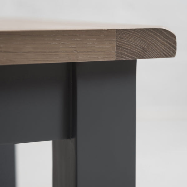 Faversham Side Table In Dove Grey