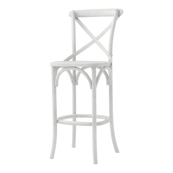 Aubignan Breakfast Bar Stool In Old White