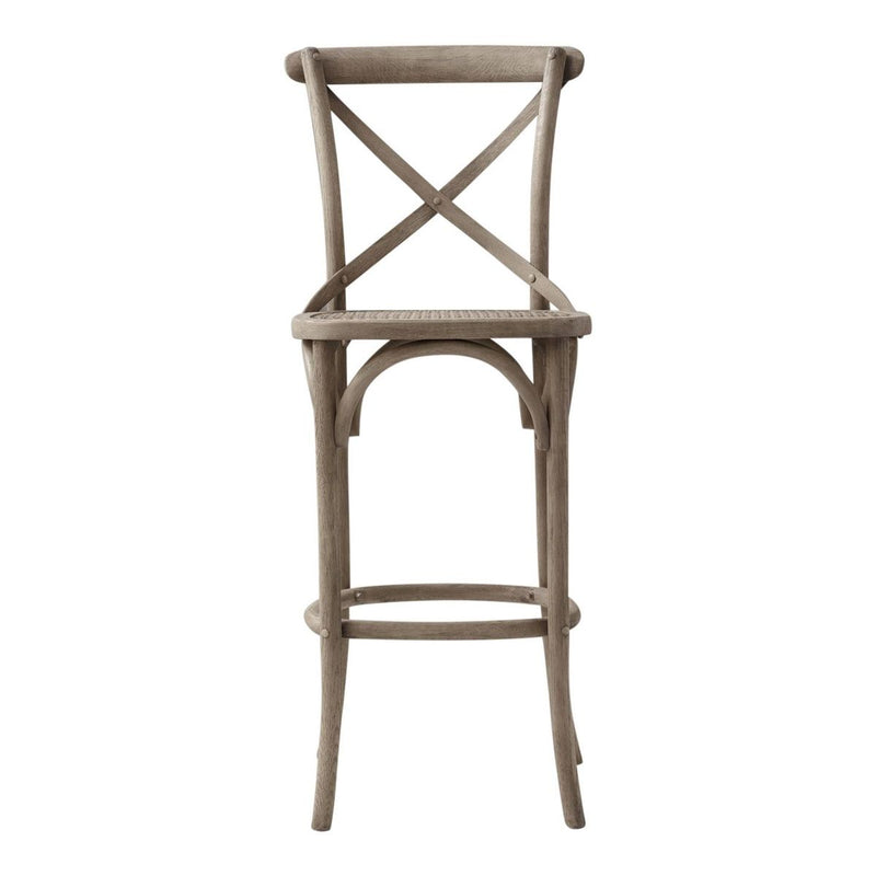 Aubignan Breakfast Bar Stool In Lime Washed