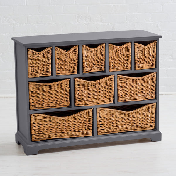 Newport Storage Chest In Dove Grey