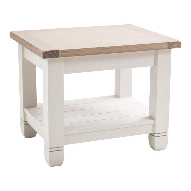 Faversham Side Table In Old White