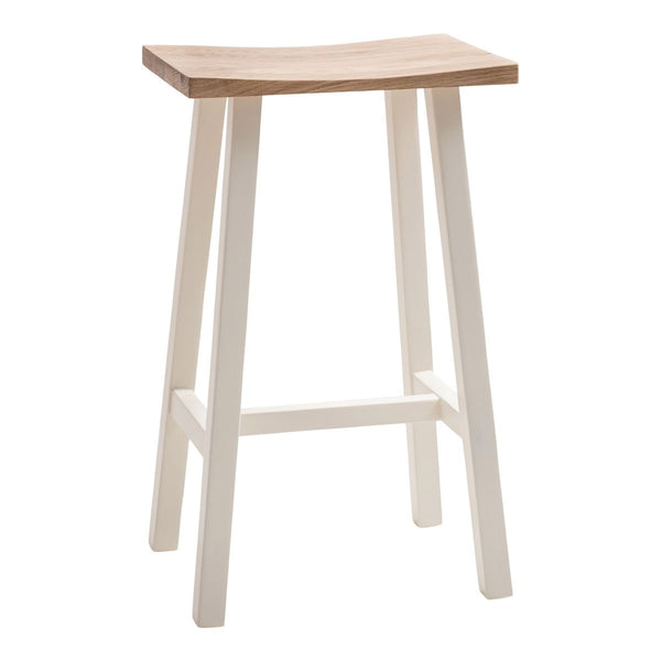 Hudson Breakfast Bar Stool In Old White