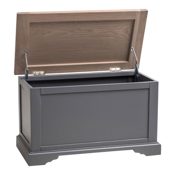 Faversham Blanket Box In Dove Grey