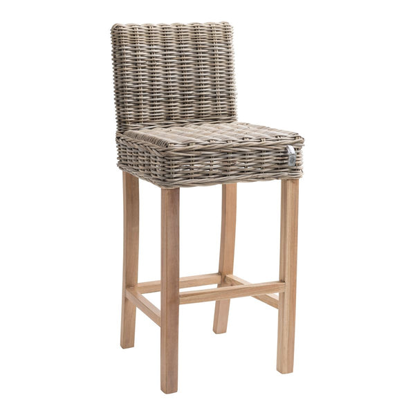 Key Largo Kubu Rattan Bar Stool