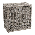Key Largo Kubu Rattan Laundry Seperator Basket