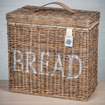 Key Largo Kubu Rattan Lidded Bread Bin