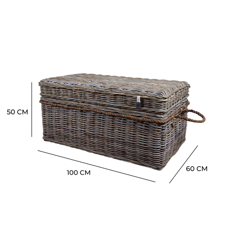 Key Largo Rattan Large Coffee Table