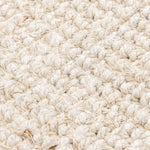 Westport Chunky Jute Boucle Natural Rug In White - 200 x 300