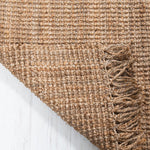 Georgetown Chunky Jute Boucle Natural Runner With Tassels - 70 x 240