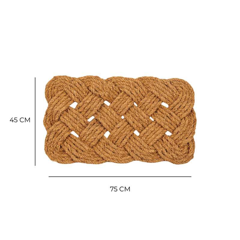 Knotted Rope Door Mat
