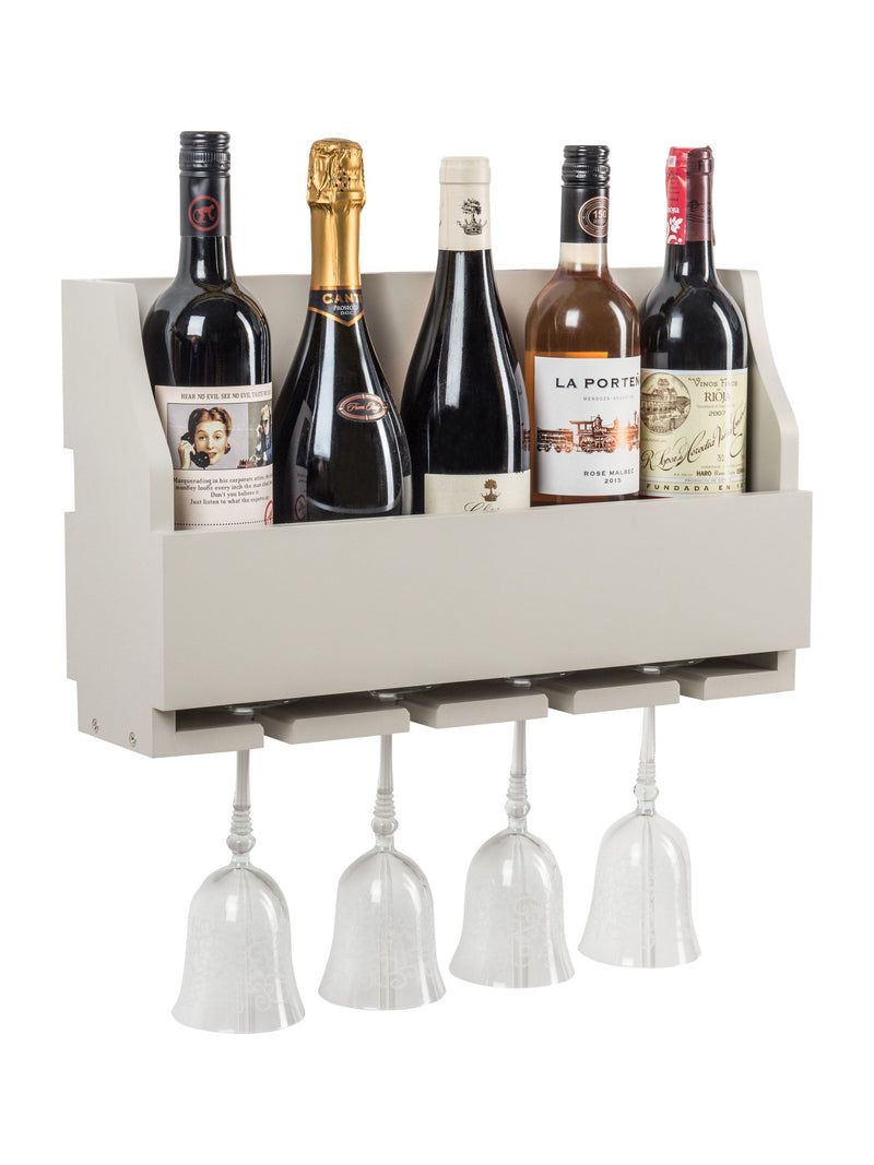 Rumford Wine Rack In French Grey