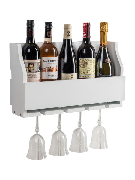 Rumford Wine Rack In Paris White