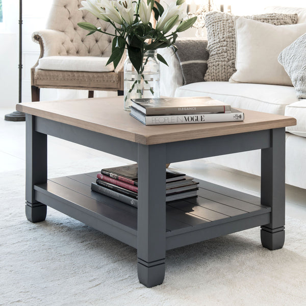 Faversham Coffee Table In Dove Grey