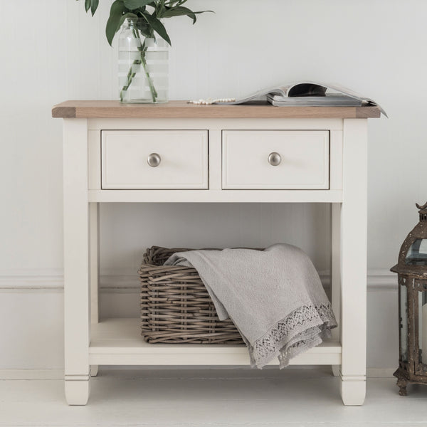 Faversham Console Table In Old White