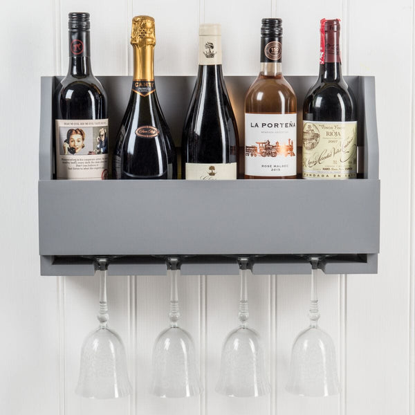 Rumford Wine Rack In Dove Grey™