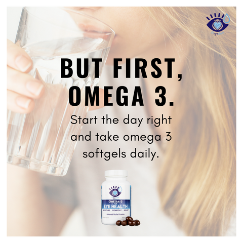 Heyedrate Omega 3 Advanced Eye Health Softgels