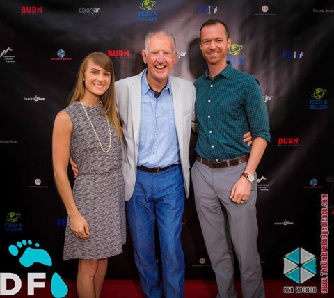 Brian Smith (UGGS Founder), Dr. Jenna Zigler, Dr. Travis Zigler, Digital Footprint Conference 2017