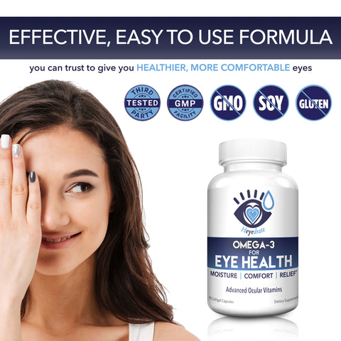 Heyedrate Omega 3 for Healthy Eyes