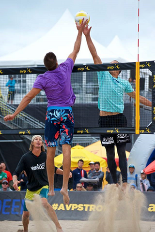 Eric Zaun Beach Volleyball Professional