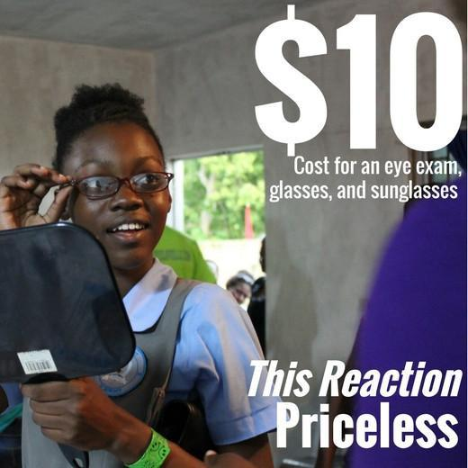 Buy a Pair of Glasses for Someone in Need and We Will Match Your Donation!