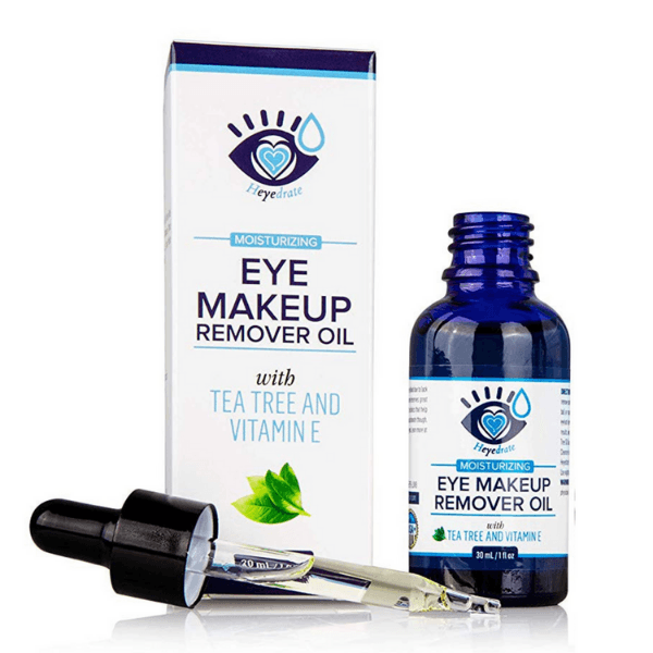 Heyedrate® Eye Makeup Remover Oil | With Tea Tree and Vitamin E