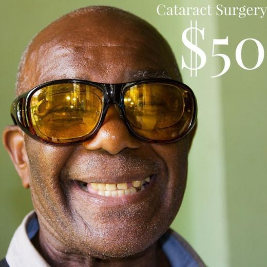 Buy a Cataract Surgery for a Jamaican in Need and We Will Match Your Donation!