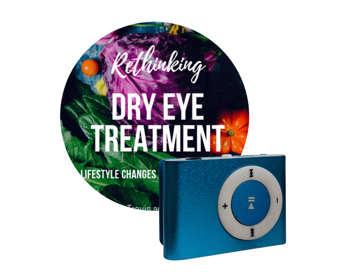 Rethinking Dry Eye Treatment Audio Book MP3 Player ONLY